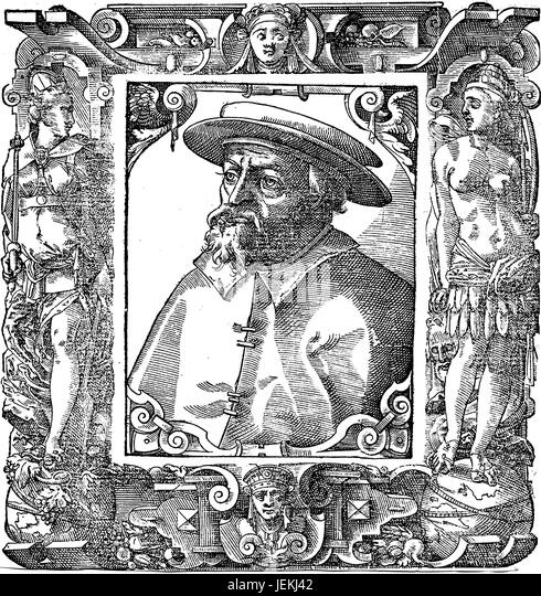 JOHN ARGYROPOULOS (c 1415-1487) Greek humanist philosopher - Stock-Bilder