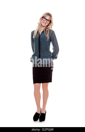 smart business woman boss or manager - Stock Image