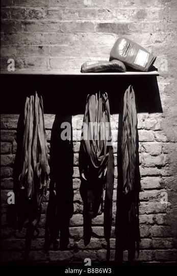 Boxing equipment - Stock Image