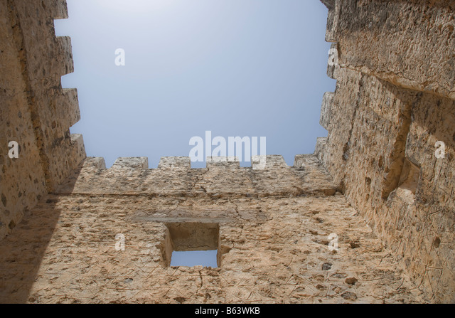 Imprisoned in the tower - Stock Image