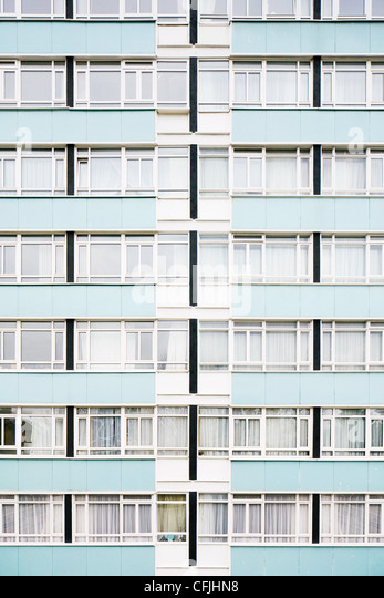 High rise residential building - Stock Image