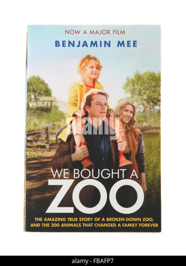 The book - We Bought a Zoo by Benjamin Mee - Stock Image