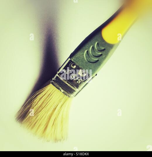 A paint brush - Stock Image
