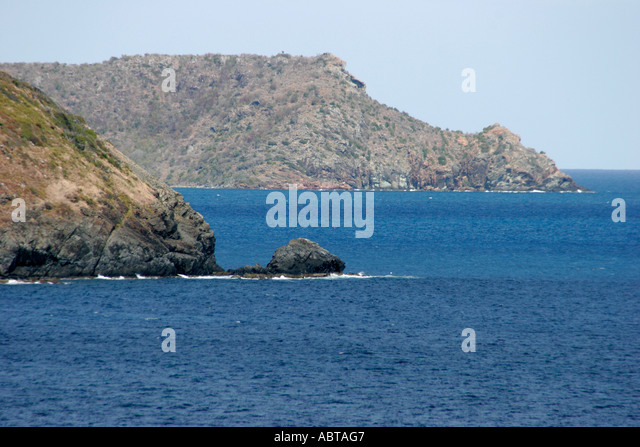 BVI Tortola Caribbean Sea Sir Francis Drake Channel - Stock Image