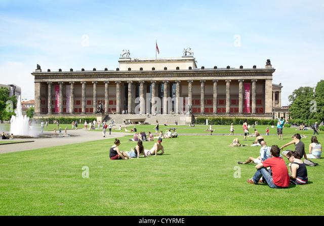 Altes Museum or Antiquity Museum in Berlin - Stock Image