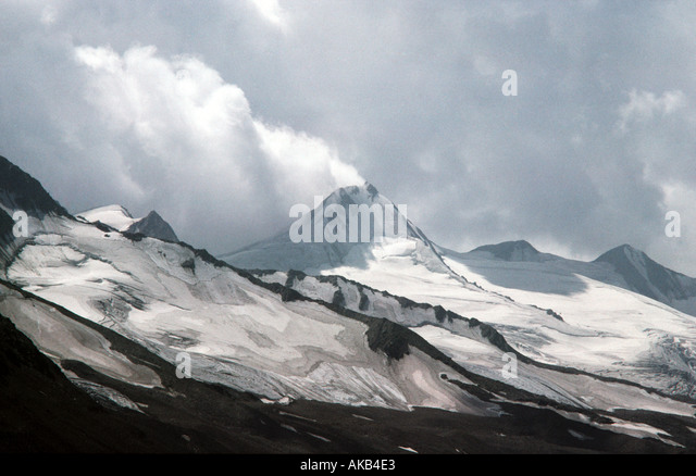 A peak in the Ötztal Alps, Austria - Stock Image