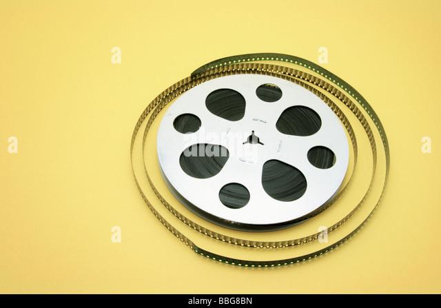 Film Reel - Stock Image