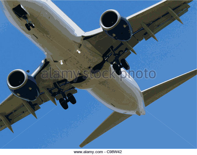 flyer Aircraft Fuselage Start - Stock Image
