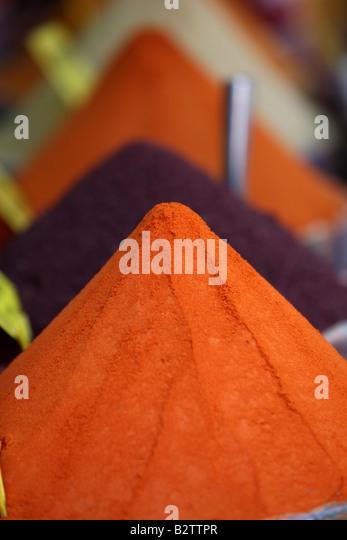 TUR Turkey Istanbul Spice Basar spice souk - Stock Image