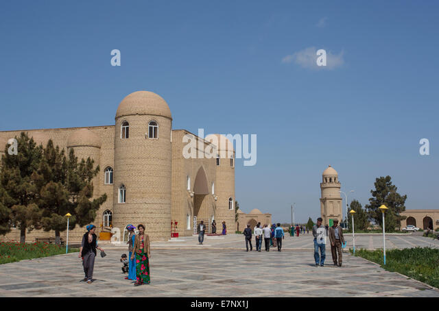 Archaeological Site, Hoya Yusuf, Mausoleum, Merv, Turkmenistan, Central Asia, Asia, architecture, grave, history, - Stock Image