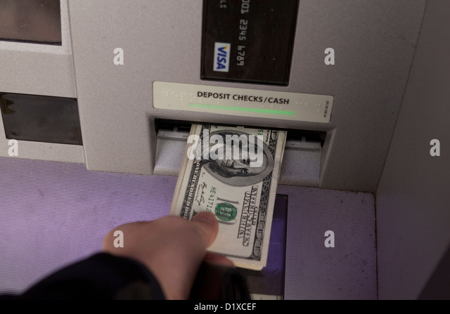how to use atm machine to deposit money