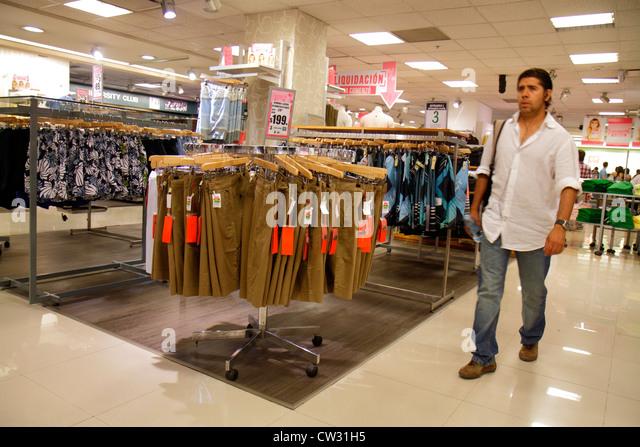Mendoza Argentina Villa Nueva Mendoza Plaza Shopping mall Falabella department store business retail display shopping - Stock Image
