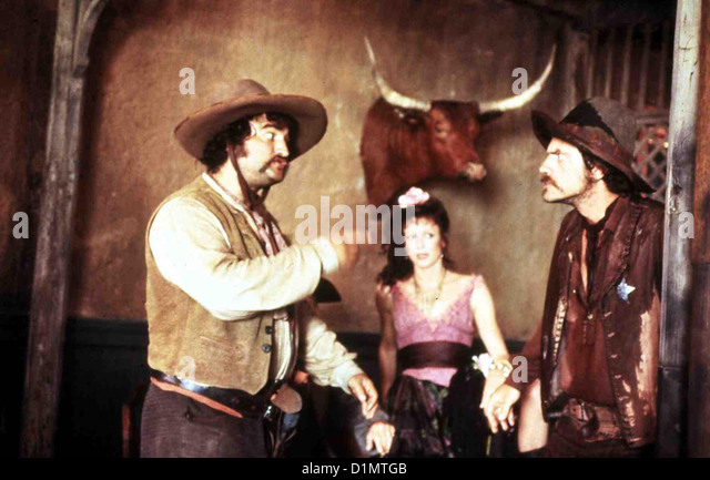 Der Galgenstrick  Goin' South  John Belushi, Christopher Lloyd Hilfssheriff Frank Towfield (Christopher Lloyd,r) - Stock Image