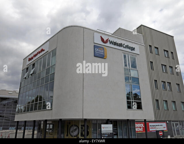 Walsall Main College Building, West Midlands, England, UK - Stock Image