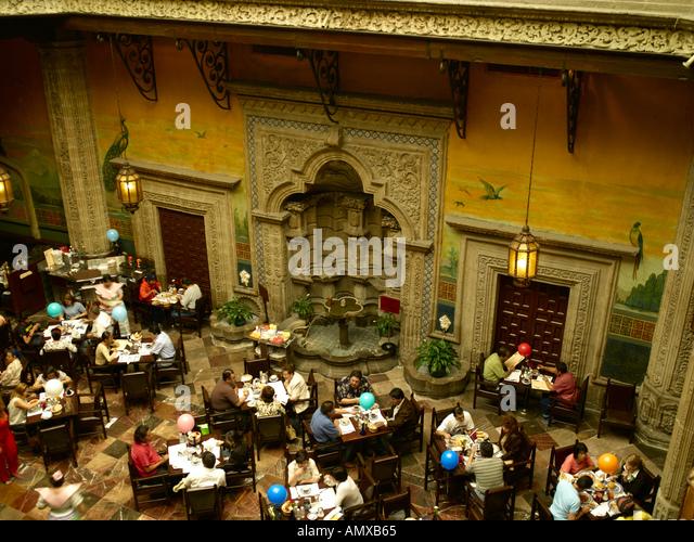 Casa de los azulejos mexico city stock photos casa de for Casa de los azulejos puebla
