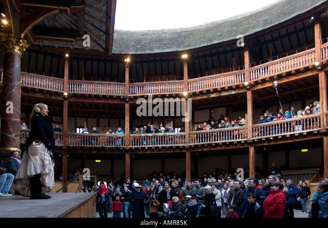shakespeares theatre Elizabethan theatre was full of life and much different than theatre is today acting companies organized performances and hired actors.