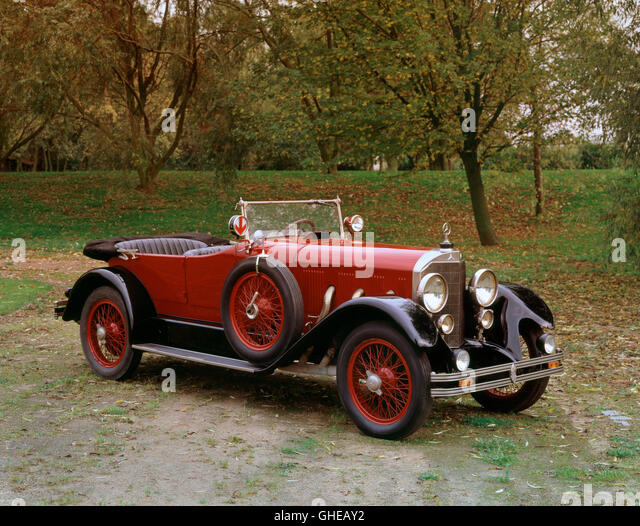 1928 Mercedes Benz Type K Supercharged 6 2 litre 4 seater tourer Country of origin Germany - Stock Image