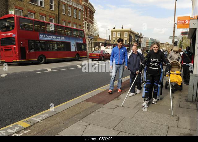Athletics - 32nd Virgin London Marathon - Stock Image