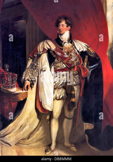 George IV - Stock Image