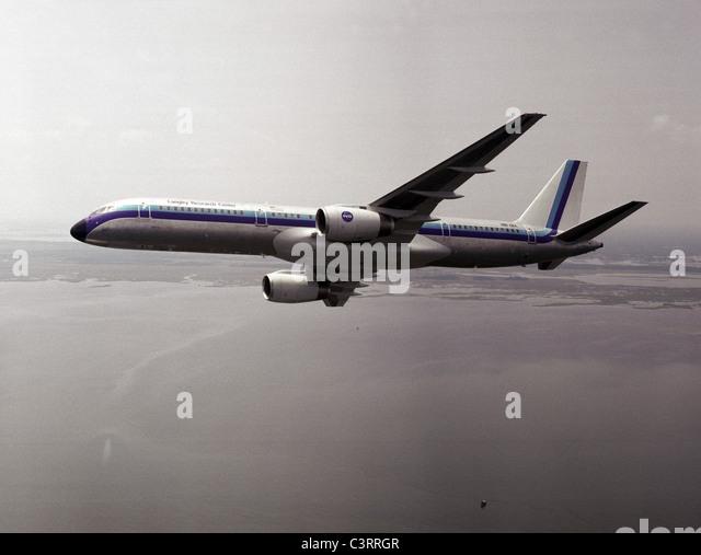 NASA B-757 aircraft - Stock Image
