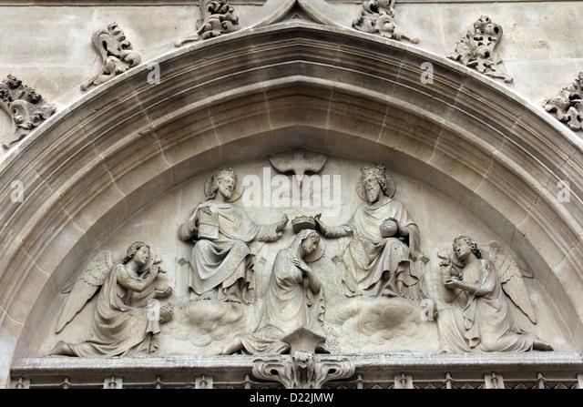 the saint blessed virgin mary bernard