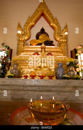 Chetawan Temple (Petaling Jaya, Malaysia) - Stock Image