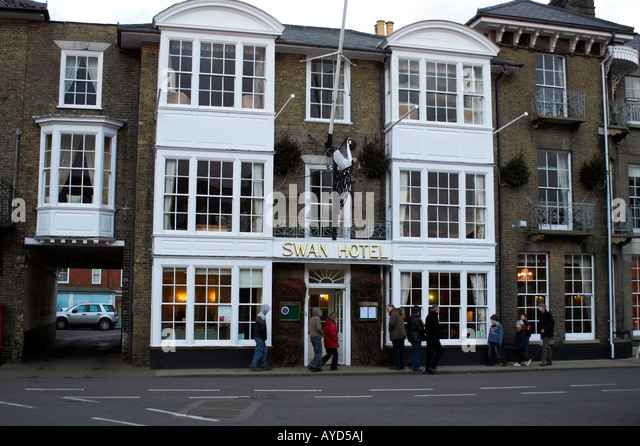 Southwold Swan Hotel Suffolk England United Kingdom - Stock Image