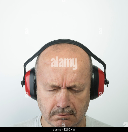 noise protection - Stock Image