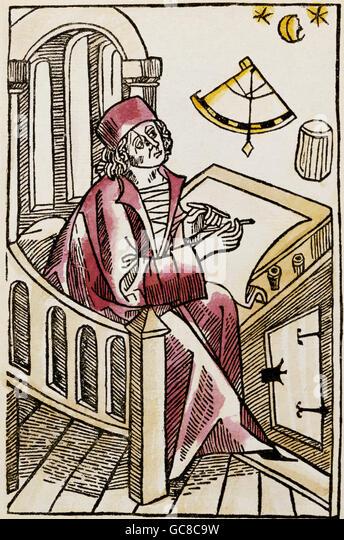 scholar writing