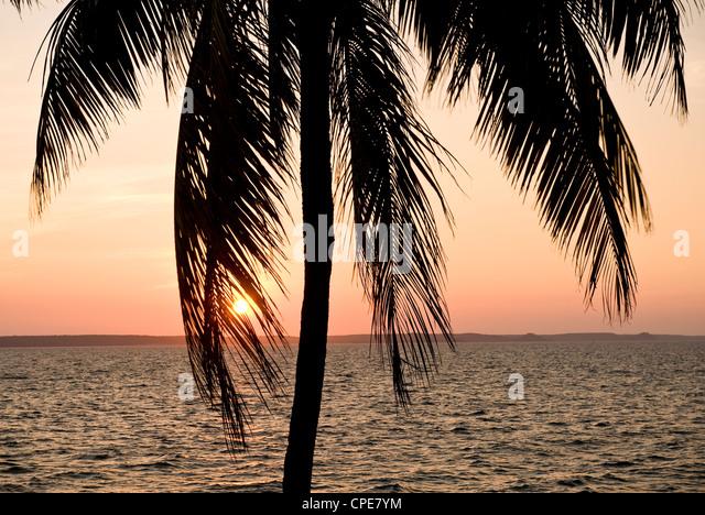 Punta Gorda, Cienfuegos, Cuba, West Indies, Caribbean, Central America - Stock Image