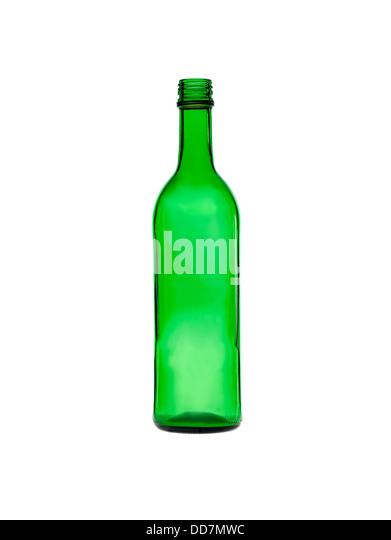Green bottle - Stock Image