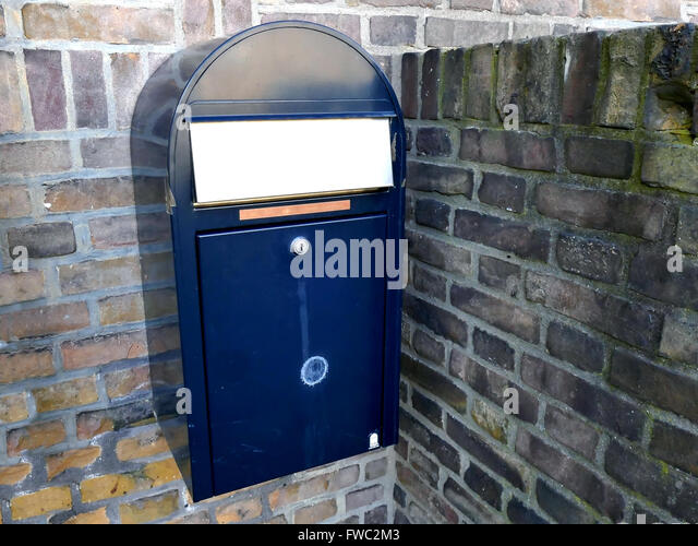 how to build a brick letterbox