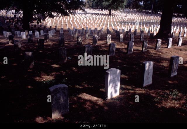 National Cemetery, Washington, D.C. - Stock Image