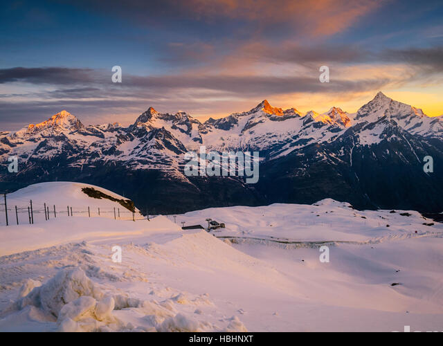 View on Alps - Stock Image