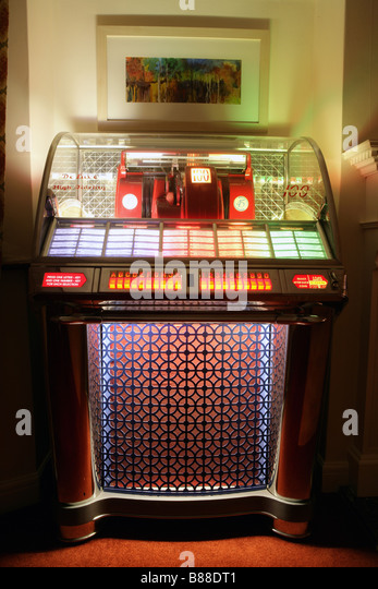 Seeburg 100 select-o-matic Jukebox - Stock Image