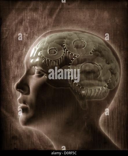 Human intelligence concept - Stock-Bilder