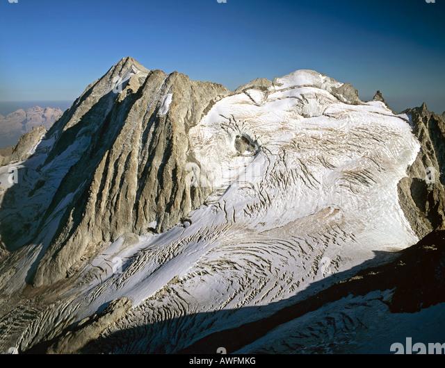 Mt. Presanella, Adamello-Presanella Group, Trentino, Southern Alps, Italy, Europe - Stock-Bilder