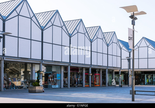 Bury St Edmunds, Suffolk, Town Centre - Stock Image