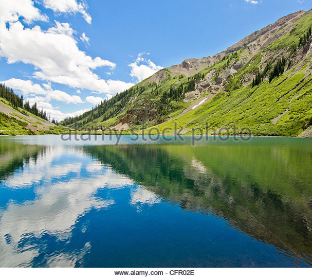 Emerald Lake, Gothic Natural Area, Aug 10, 2010 - Stock Image