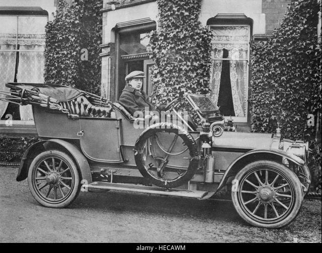 1908 Wolseley 14-20 - Stock Image