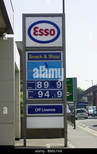 Petrol Price: Esso Petrol Price