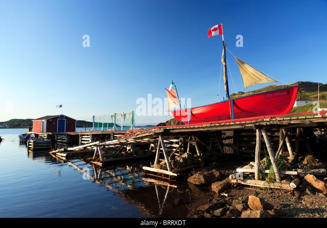 Atlantic canada boat fishing stock photos atlantic for Fishing docks near me
