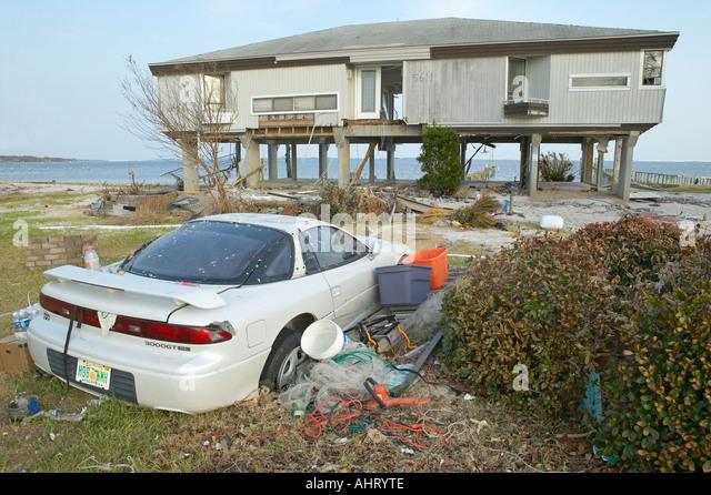 Wrecked car usa stock photos wrecked car usa stock for Architectural concepts pensacola florida