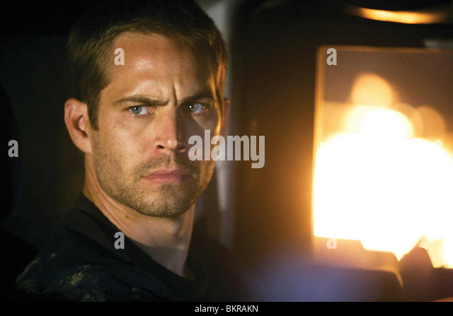 FAST AND FURIOUS (2009) PAUL WALKER JUSTIN LIN (DIR) 003 - Stock Image