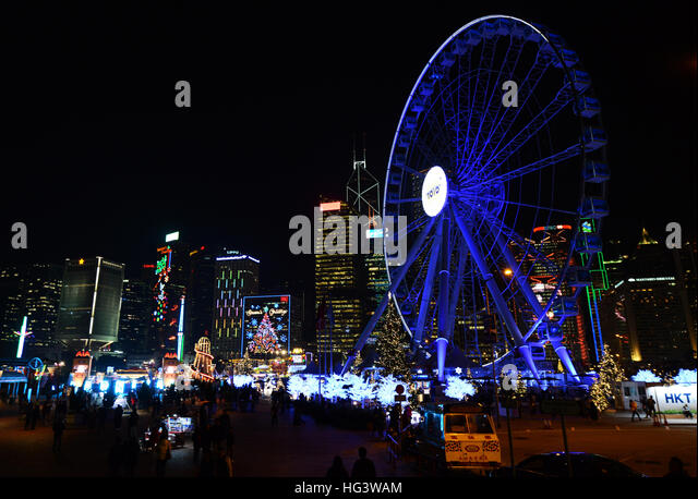 The Giant observation wheel in Hong Kong. - Stock Image