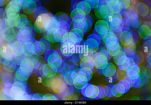 Abstract coloured lights background pattern - Stock-Bilder