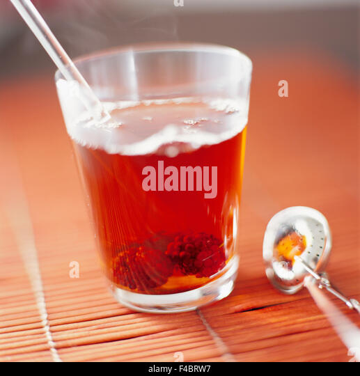 cafe close-up color image detail food and drink glass no people square Subscription08 tea - Stock-Bilder