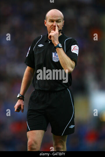 Soccer - Barclays Premier League - Blackburn Rovers v Stoke City - Ewood Park - Stock Image