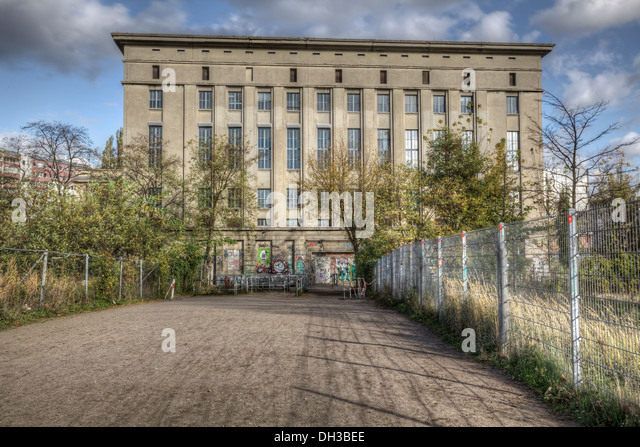 berghain berlin club stock photos berghain berlin club stock images alamy. Black Bedroom Furniture Sets. Home Design Ideas