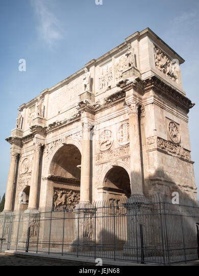 Constantine Arch, Rome - Stock Image